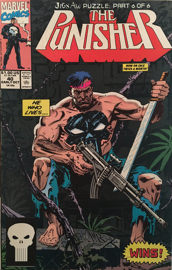 The Punisher #40 - comic book