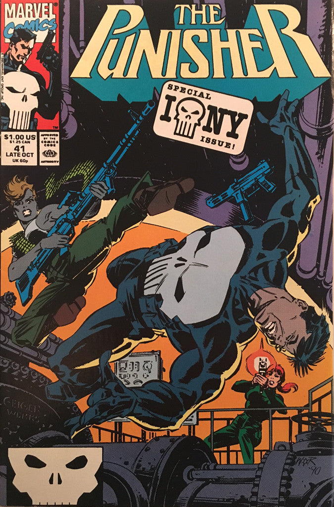 The Punisher #41 - comic book