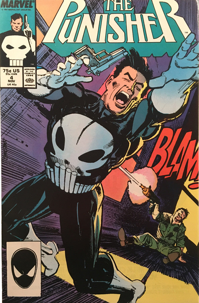 The Punisher #4 - comic book