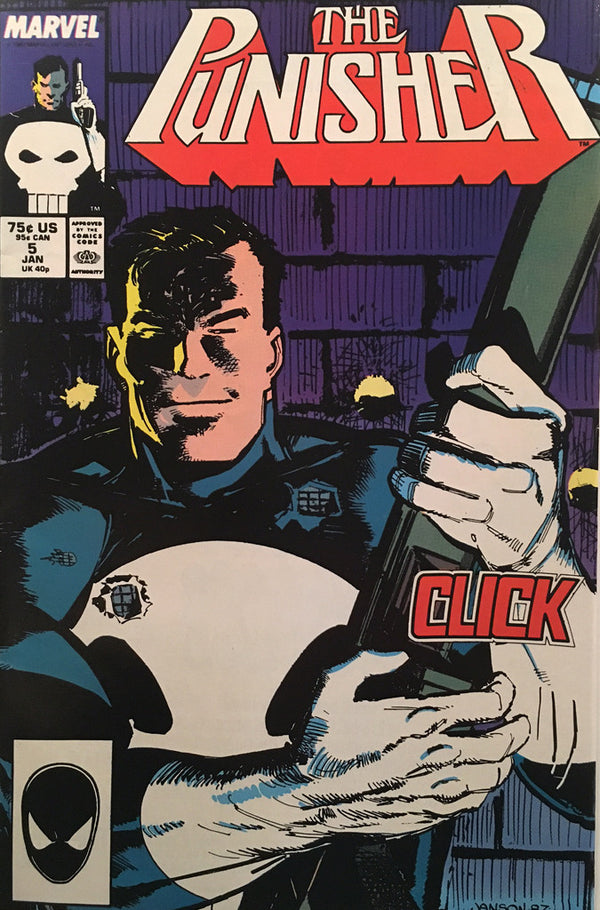 The Punisher #5 - comic book
