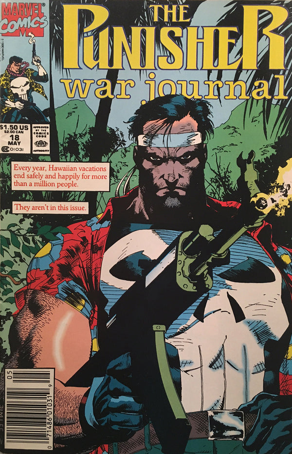 The Punisher War Journal #18 - comic book