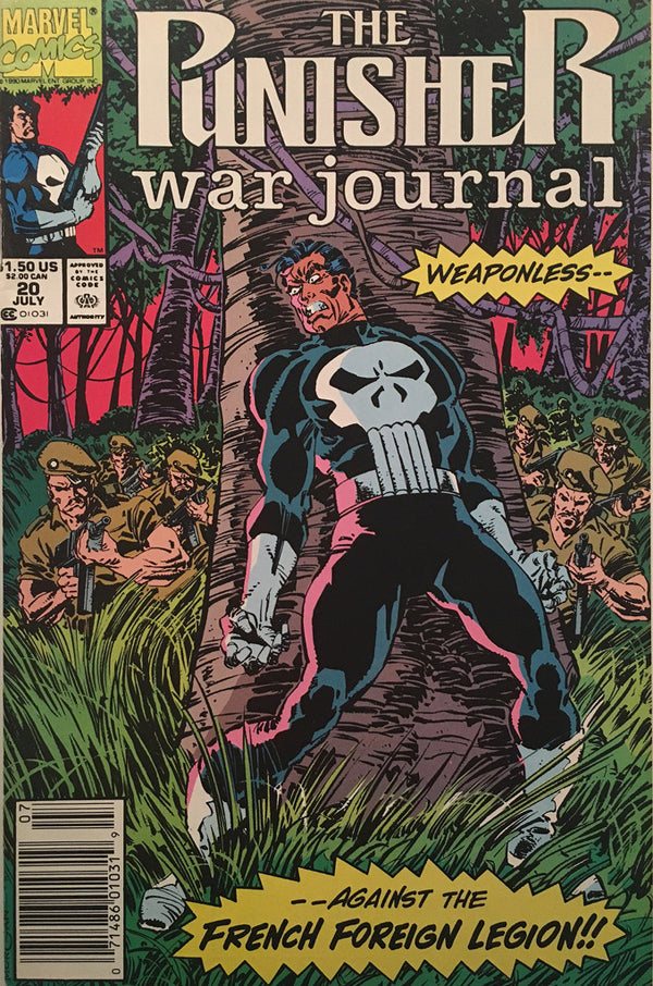 The Punisher War Journal #20 - comic book