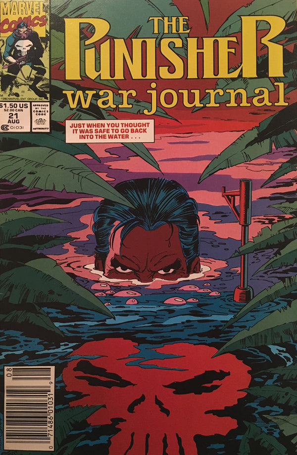 The Punisher War Journal #21 - comic book