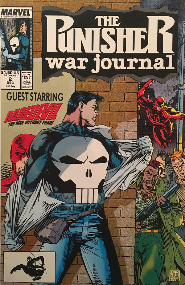 The Punisher War Journal #2 - comic book