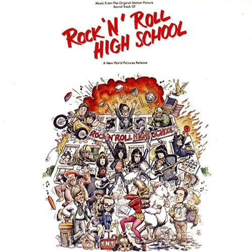 Ramones Rock n Roll High School - vinyl LP