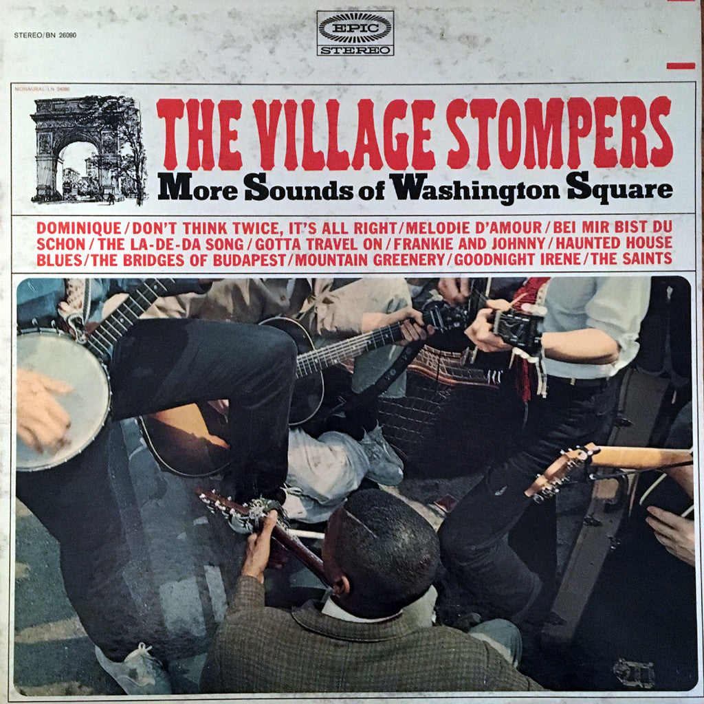 The Village Stompers More Sounds of Washington Square - vinyl LP