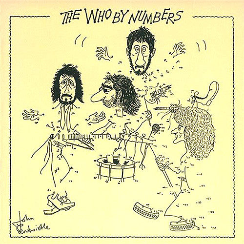 The Who By Numbers - vinyl LP