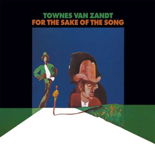 Townes Van Zandt For The Sake Of The Song - vinyl LP