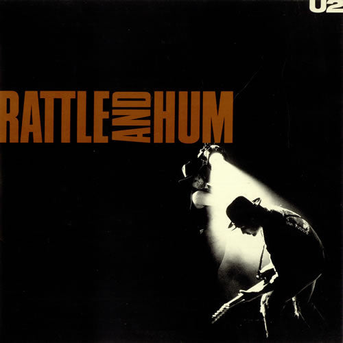 U2 Rattle and Hum - vinyl LP