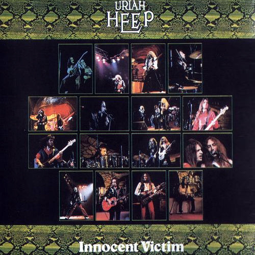 Uriah Heep Innocent Victim - vinyl LP
