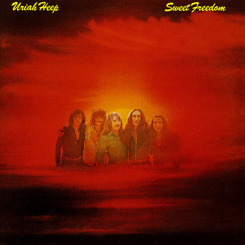 Uriah Heep Sweet Freedom - vinyl LP