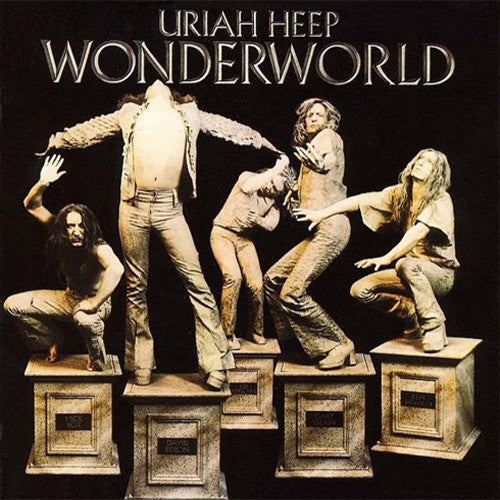 Uriah Heep Wonderworld - vinyl LP