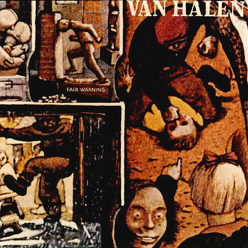 Van Halen Fair Warning - vinyl LP