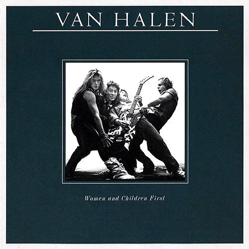 Van Halen Women and Children First - vinyl LP