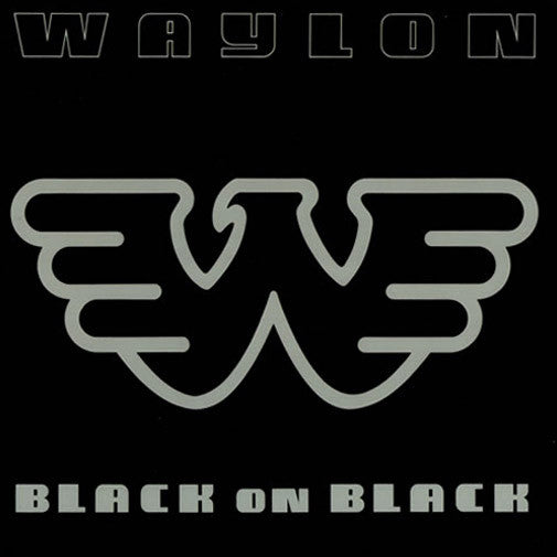 Waylon Jennings Black On Black - vinyl LP