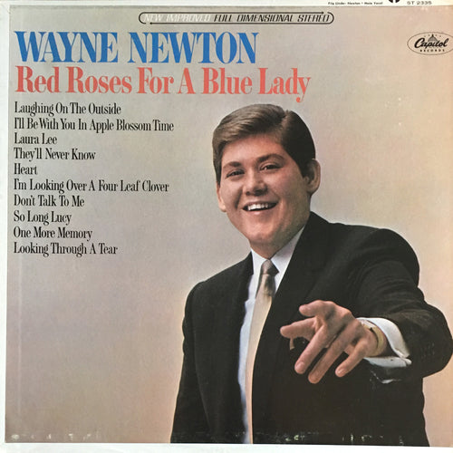 Wayne Newton Red Roses For A Blue Lady - vinyl LP