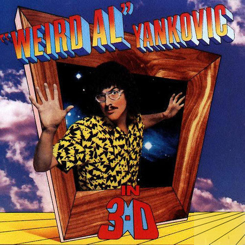 Weird Al Yankovic in 3-D - vinyl LP
