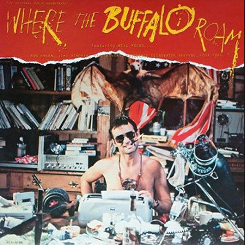 Where The Buffalo Roam motion picture soundtrack - cassette