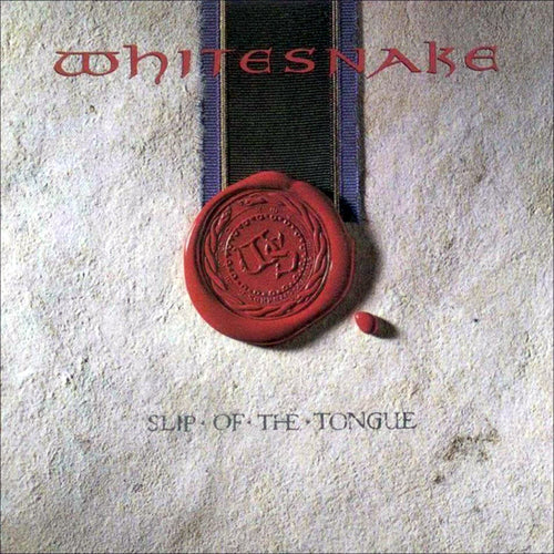 Whitesnake Slip of The Tongue - cassette