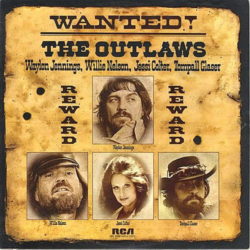 Willie Nelson Waylon Jennings Wanted! The Outlaws - vinyl LP