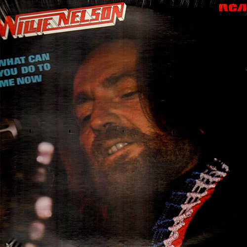 Willie Nelson What Can You Do To Me Now - vinyl LP