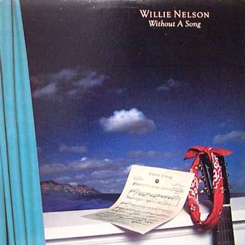 Willie Nelson Without A Song - vinyl LP