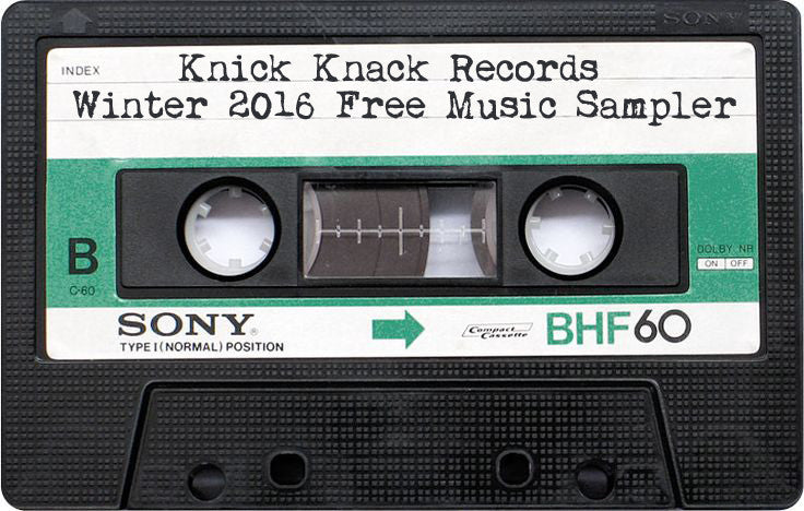 Knick Knack Records Winter 2016 Sampler
