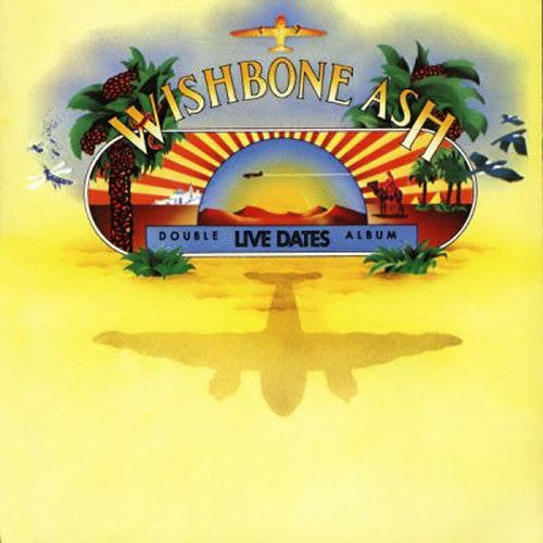 Wishbone Ash Live Dates - vinyl LP