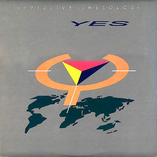 Yes 9012Live The Solos - vinyl LP