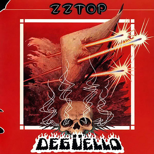 ZZ Top Deguello - vinyl LP