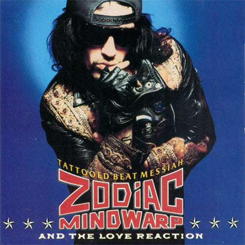 Zodiac Mindwarp & The Love Reaction Tattood Beat Messiah - vinyl LP