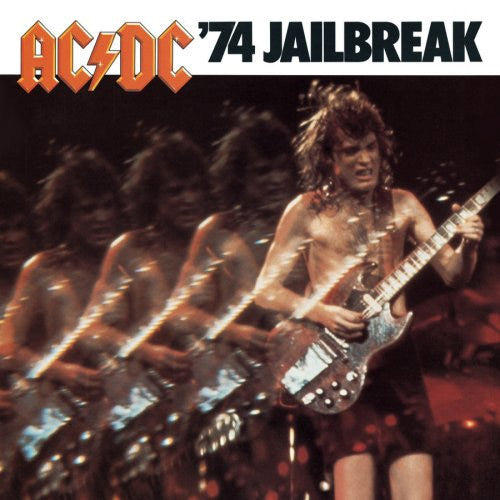 AC/DC '74 Jailbreak 12 inch 33 rpm LP pressed on 180 gram vinyl