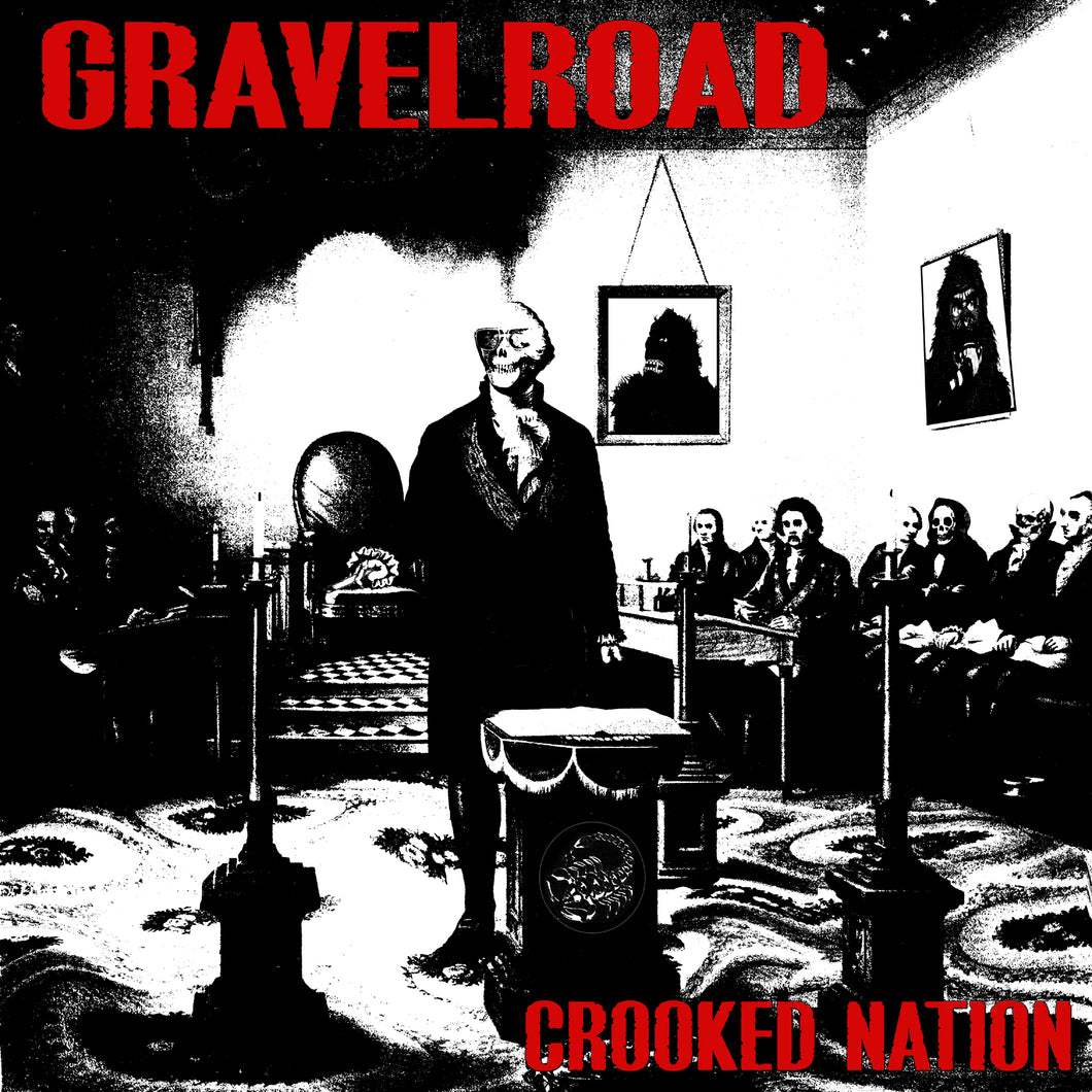 GravelRoad Crooked Nation - compact disc