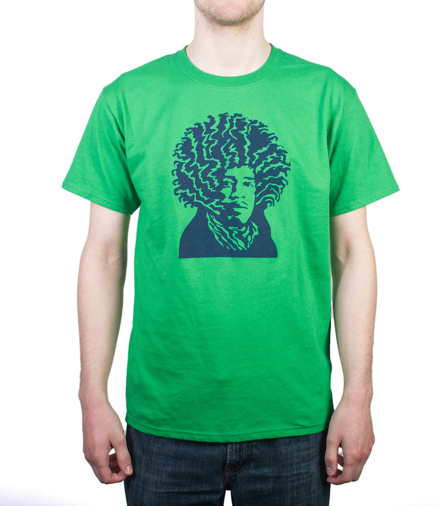 Native Son green t-shirt