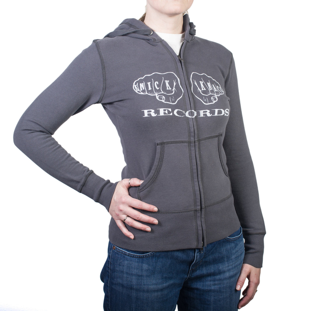 Knick Knack Records 12 Fingers Of Doom Girls Hoodie