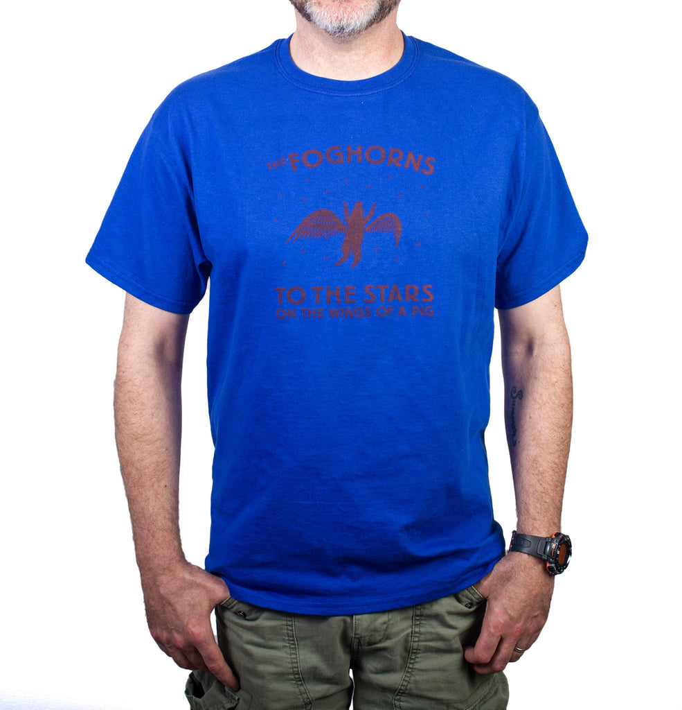 The Foghorns blue Pig t-shirt