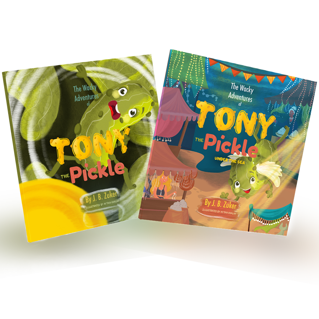 Bundle of Books - The Wacky Adventures of Tony The Pickle (2 Paperback Books)