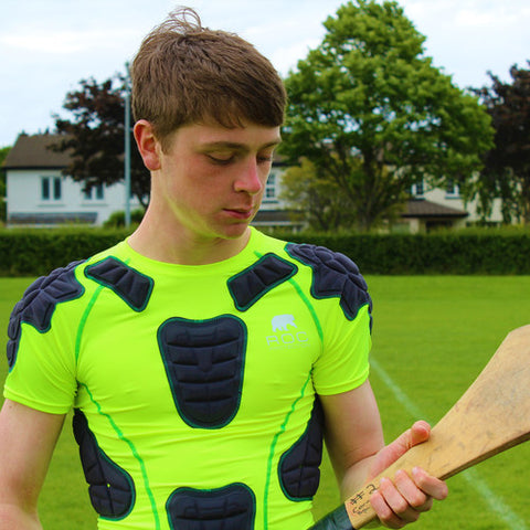 ROC Hurling Protective Base Layer Yellow