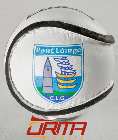 Size 4 Match Sliotar - Waterford Logo