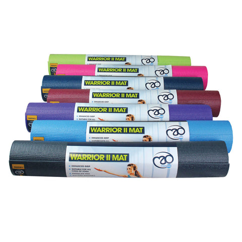 Warrior II Yoga Mat