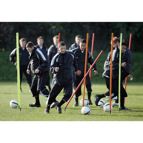 Precision Training Flexi Boundary Poles with Bag
