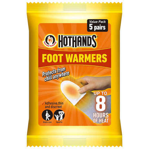 Hot Hands Foot-Toe Warmers Value Pack