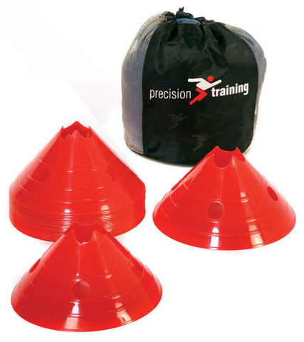 Precision Pro Giant Saucer Cone Set - Red