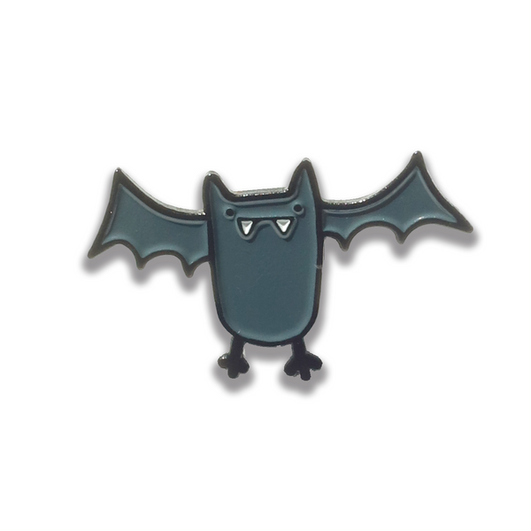 Enamel Bat Pin