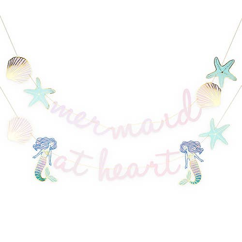 buy mermaid at heart garland