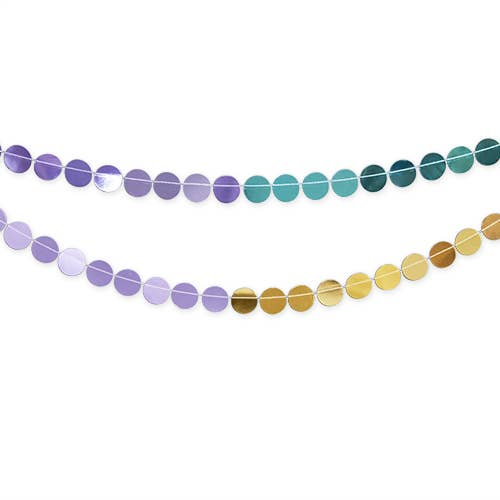 buy mermaid assorted circle garland