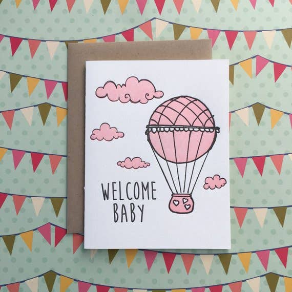 buy welcome baby balloon