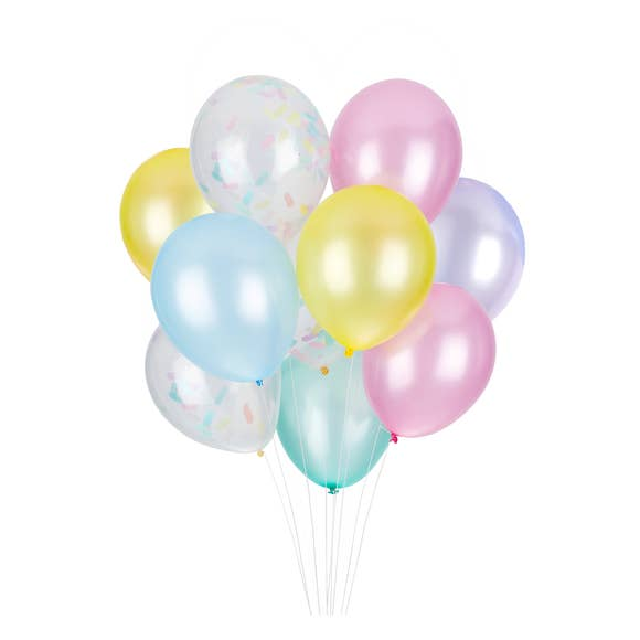 Cupcake Classic Balloons (12 Pack)