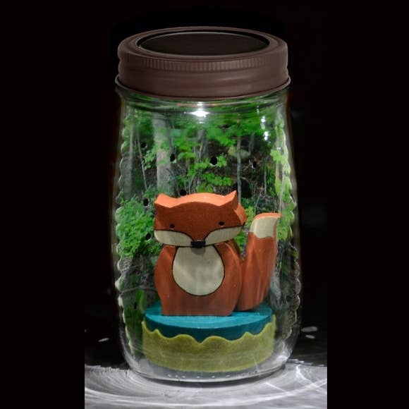 buy fox mason jar solar light1