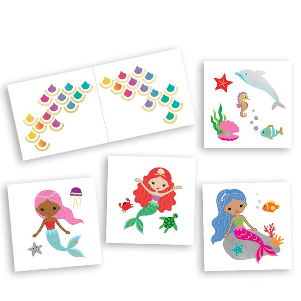 Flash Tattoos - Mermaid Variety Set